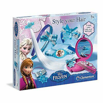 Disney Frozen Style your Hair Make Up Beauty Set Girls Creative Toys