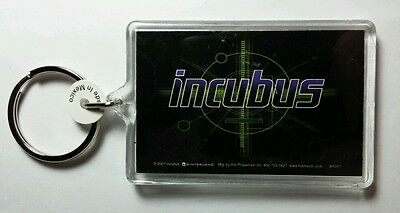 As-Is Incubus Mechanical Name Black Green Music Key Chain Keychain