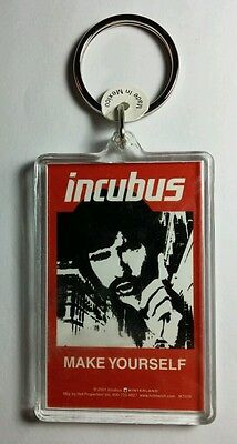 As-Is Incubus Make Yourself Red B&w Music Key Chain Keychain