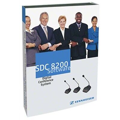 Sennheiser SDC 8200 SYS-M software for SDC 8200 conference system