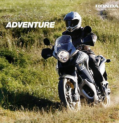 Honda Adventure Motorcycle Brochure 2011 - XL1000V Varadero Crossrunner XL700V