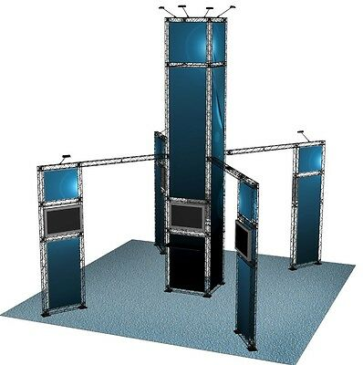 TRADE SHOW BOOTH DISPLAY CUSTOM 20' x 20' EXHIBIT