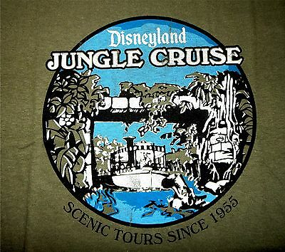 New Disneyland Jungle Cruise 60th Anniversary Limited Edition T Shirt Youth Med