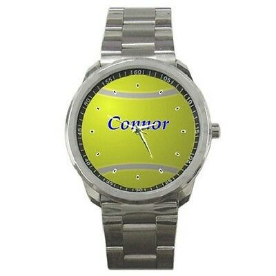 Tennis Ball Personalised Sports Watch ***any Name You Want***