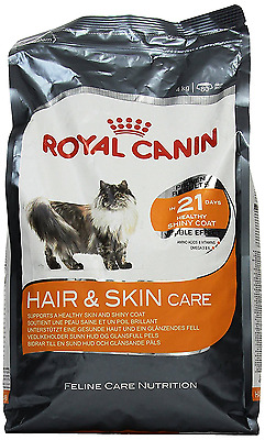 Royal Canin Cat Food Hair & Skin Care 33 Dry Mix 4 kg