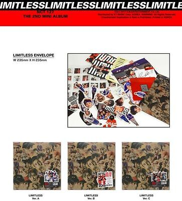 NCT127 [NCT127 LIMITLESS] 2nd Mini Album CD + Full set Factory Sealed K-POP SM
