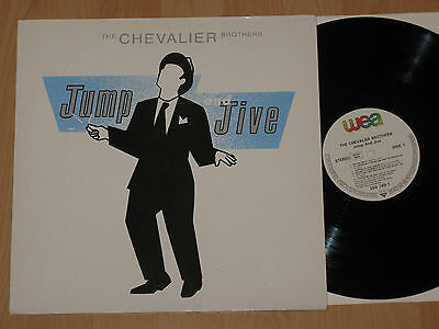 Lp The Chevalier Brothers - Jump And Jive - Big Bad Betty - Pr-Copy
