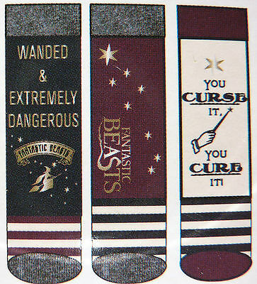 Neu 3 Paar ★ Harry Potter ★ Damen Socken 37-42 Strümpfe Fantastic Beasts Primark
