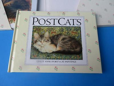"""Post Cats"",  A Book to Keep & 15 Different Cards to Send by Lesley Anne"