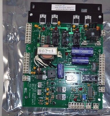 Intercon Security LTD Mag-Lock Maglock Power Supply Circuit Board 0640-3000