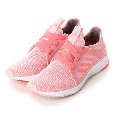 2016Adidas Edge Lux W Bounce Trainers PINK/WHITE BA8304 sz US 5-8.5 Running