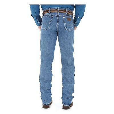 47MWZSW Wrangler Men's Premium Performance Cowboy Cut Jeans Stone Wash  NEW