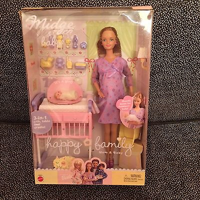 Midge & Baby - Happy Family Mom & Baby - Mattel #16290 - NIB