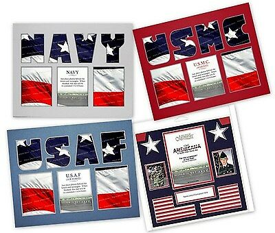 All About Memories ScrapMat Photo Mat for the Scrapbook Marines Air Force Navy