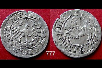 1540 Hammered Silver Coin