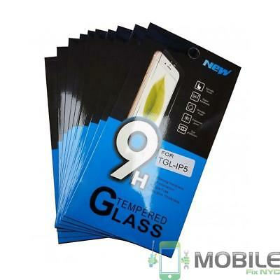10x Wholesale Lot Tempered Glass Screen Protector for Apple iPhone 5 / 5S / 5C