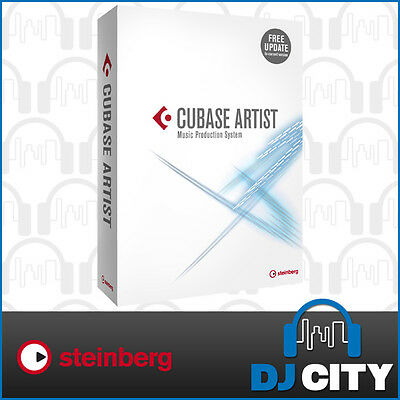 Steinberg Cubase Artist 9 Professional Recording Production Software DAW - NEW