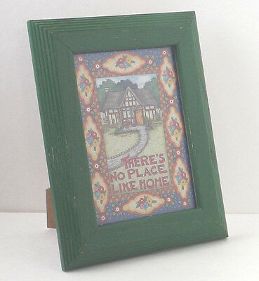 Mary Englelbreit Card Print Wood Framed No Place Like Home Me Ink 9x7