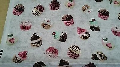 Cup Cake Design Fabric Drawstring Resource Bag Teacher Resource Nqt
