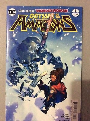 DC Odyssey Of The Amazons #1 Variant NM+