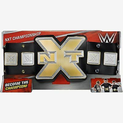 WWE NXT Championship Belt DYF74 (Genuine Mattel) NEW