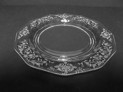 "Navarre  2440 Lafayette 7.5 "" Salad Plate / Fostoria Glass Co / 11 Available"