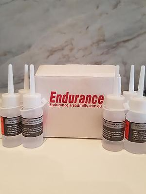 FREE POST x 6 Pack Treadmill 100% Silicone Belt Lubricant x 6 Pack Endurance