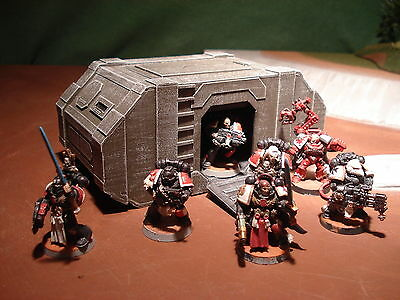 Wargame Terrain - Forward Command Centre - Grey - Tactical Tabletop Model