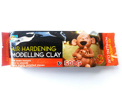 Artoys Air Hardening Modelling Clay AIR DRY CLAY Terracotta 500g Art Supply
