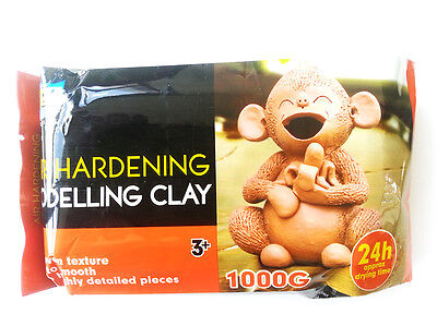 Artoys Air Hardening Modelling Clay - AIR DRY CLAY - Terracotta 1kg Art Supply