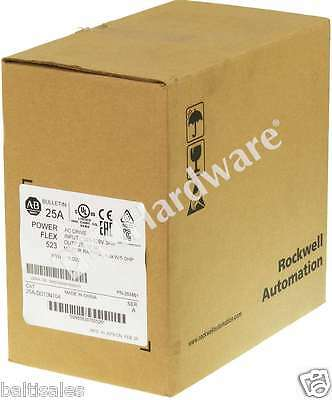 New Sealed Allen Bradley 25A-D010N104 /A 2015 PowerFlex 523 AC Drive 480V 5HP