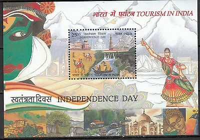 India 2016 Tourism in India MS  MNH New Issue