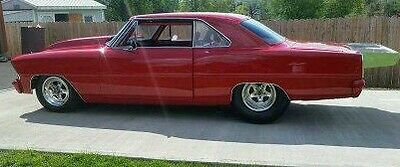Chevy Nova 62-67 Wings, Spoiler aluminum race, P/S polished or black anodized