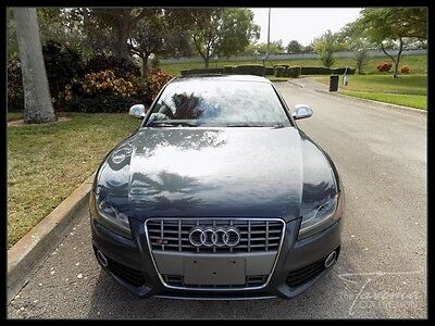 2009 Audi S5 Base Coupe 2-Door 09 S5 CLEAN CARFAX V8  GASOLINE HEATED SEATS SPORT WHEELS BANG & OLUFSEN FL