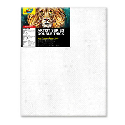 "Artoys Studio Blank Canvas Double Thick 24x30"" (60.9x76.2cm) 380gsm 35mm Thick"