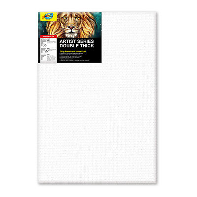 "Artoys Studio Blank Canvas Double Thick 24x36"" (60.9x91.4cm) 380gsm 35mm Thick"