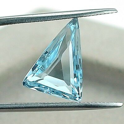 4.60 Cts Natural Blue Topaz 10x14 MM Fancy Cut Loose Gemstone LSY1002