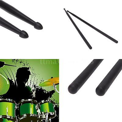 Pair of 5A Drumsticks Stick Nylon for Drum Set Lightweight Professional O9S4