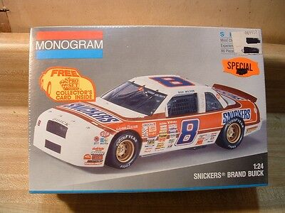 #8 Snickers Brand Buick ~ 1991 Monogram Model Kit #2940 ~ 1/24 ~ Factory Sealed
