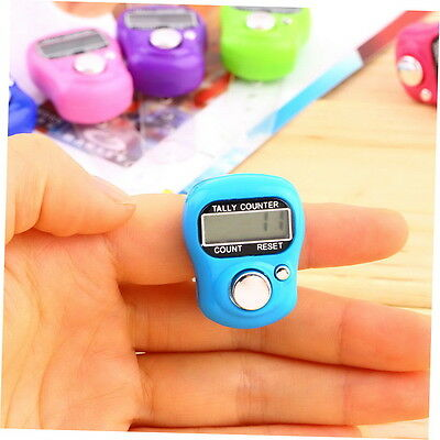 Stitch Marker And Row Finger Counter LCD Electronic Digital Tally Counter CN