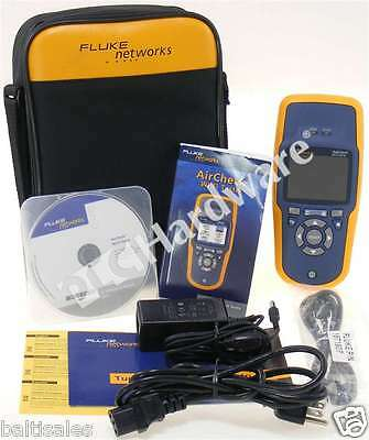 New Fluke AirCheck Handheld Wireless Wi-Fi Tester Network 802.11a/b/g/n/ac