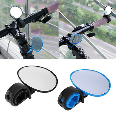 Bike Bicycle Cycling Rear View Mirror Handlebar Flexible Safety Rearview B9