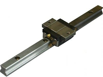 Linear Guide - Recirculating Ball Bearing - arc20-fs (Track + Short Wagon)