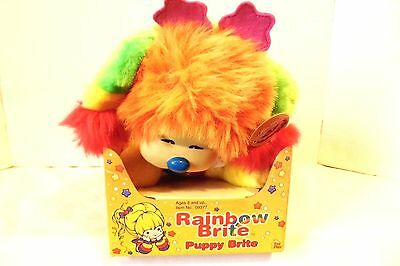 Rainbow Brite Puppy Brite Plush Toy Nrfb