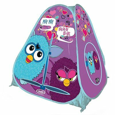 Furby Purple Pop Up Tent Indoor Outdoor Fun Foldable