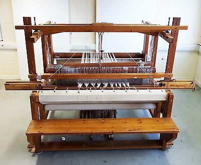 8 Harness Danish Lervad Countermarche Floor Loom - Easily converted to 12 Shaft