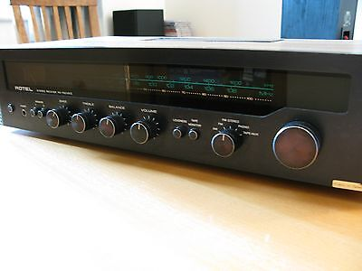 ROTEL RX-152 Mark II STEREO AMPLIFIER RECEIVER