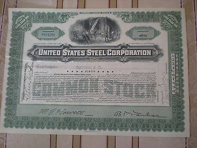 USA -    United States Steel Corp.   div. Shares  1953  10/250