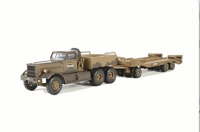 Oxford Diecast T980 Tank Transporter 1st Canadian Army Italy 1943 76DT002