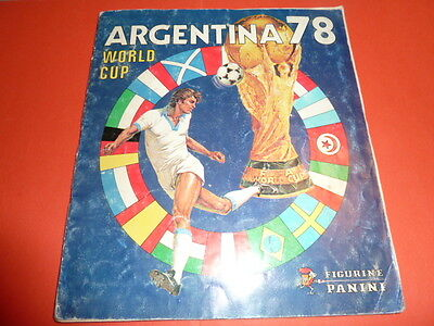 Album Panini Football Wc Argentina 78 1978 Complet Good Condition